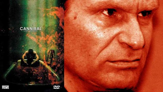 Inspired by real life German cannibal Armin Meiwes - seen above.
